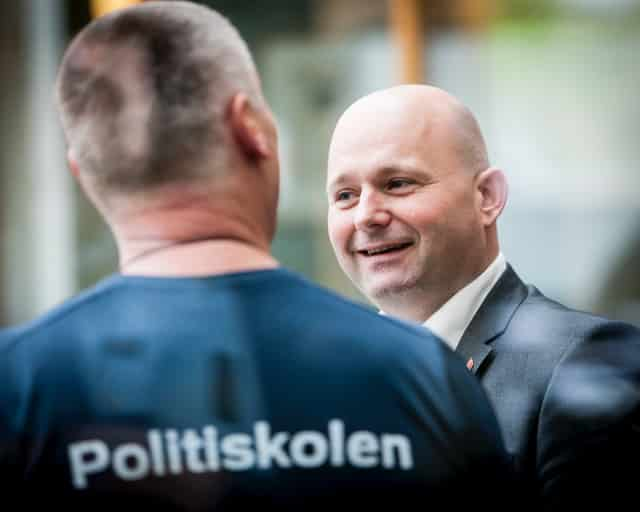 Søren Pape besøger Politiskolen
