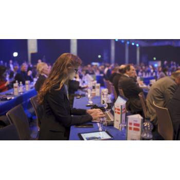 Pernille Weiss passer sin virksomhed - til EPP kongres 2018