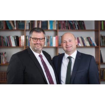 Partisekretær Søren Vandsø og Partiformand Søren Pape Poulsen